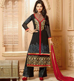 HIGH NECK GEORGETTE PARTY WEAR SALWAR KAMEEZ FOR WOMEN ONLINE INDIA