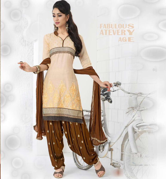 SHOP ONLINE FOR DESIGNER COTTON PATIALA SALWAR KAMEEZ