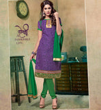STRAIGHT CUT COTTON  SALWAR SUIT AT DISCOUNTED RATE 4-DESIGNER STRAIGHT CUT COTTON  SALWAR SUIT AT CHEAPEST PRICE.
