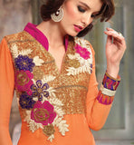 straight cut salwar kameez online shopping