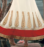 embroidery pattern for kalidar salwar suits.