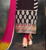 straight cut salwar kameez designs