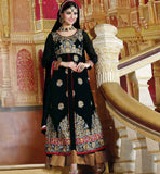 BLACK PARTY WEAR DRESS RTJHA5002