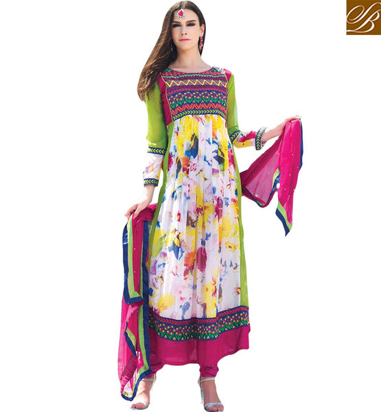 FROM THE HOUSE  OF STYLISH BAZAAR FABULOUS SALWAAR KAMEEZ DESIGN FOR SPECIAL EVENTS RTELE5003