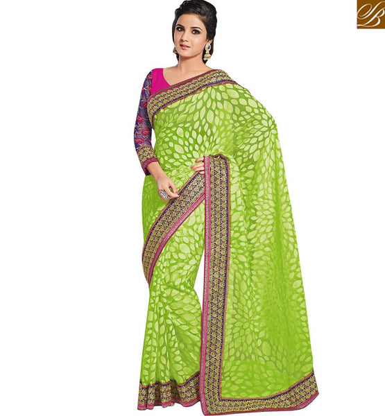 BROUGHT TO YOU BY STYLISH BAZAAR FABULOUS SARI FOR ALL SPECIAL OCASSIONS RTHTS5003