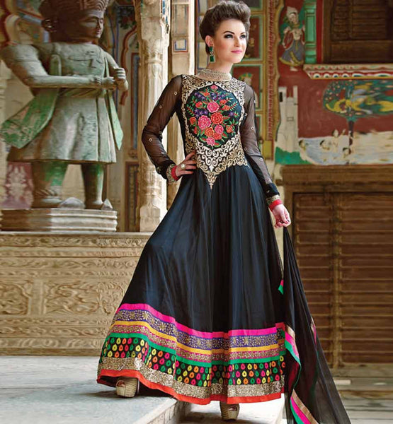 ETHNIC ANARKALI DRESS RMRUH5004