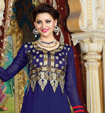 BLUE PARTY WEAR DRESS RTJHA5005