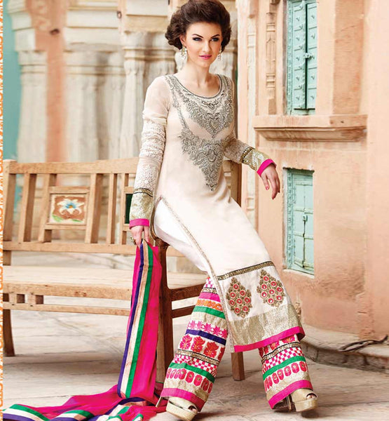 EMBROIDERED STRAIGHT SUIT RMRUH5005