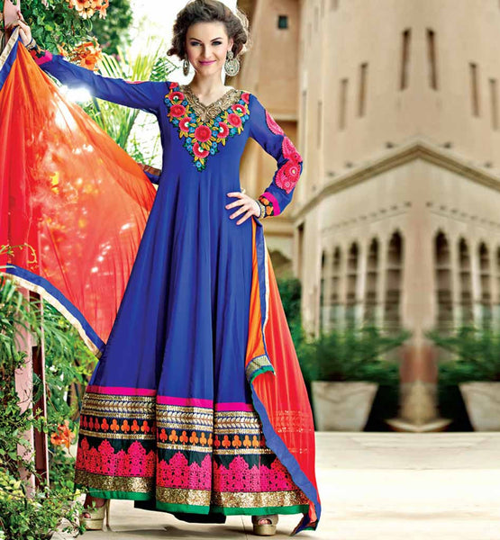 LOVELY ANARKALI DRESS RMRUH5007