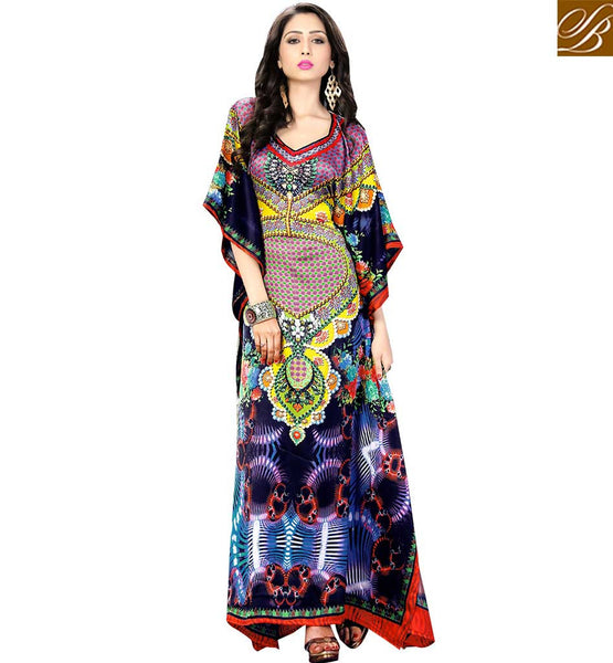 STYLISH BAZAAR PRESENTS CAPTIVATING PARTY WEAR KAFTAN DESIGN SKKF5008