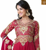 SONAL CHAUHAN ZARI WORK WEDDING DRESS
