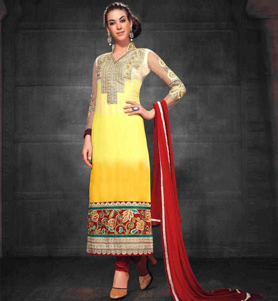 SHADED PARTY WEAR SALWAR KAMEEZ ONLINE SHOPPING INDIA AT LOW RATES