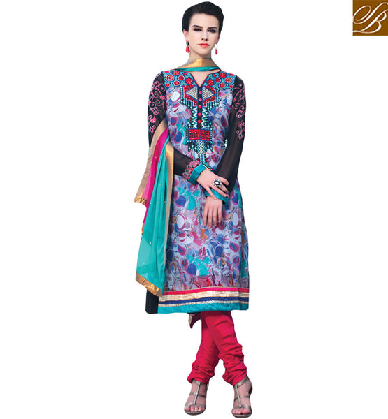 EXOTIC DESIGNER SALWAAR KAMEEZ SUIT DESIGN RTELE5010 BY STYLISH BAZAAR PRESENTATION