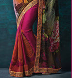 Shop Online for Indian Party wear Sarees Stylishbazaar shopping website