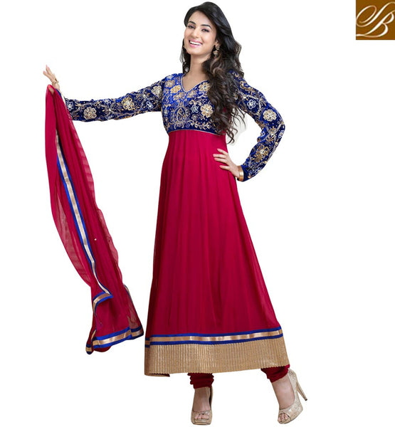 Soanal Chauhan anarkali collection