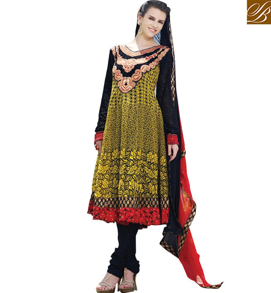 STYLISH BAZAAR PRESENTS CAPTIVATING DESIGNER SALWAAR KAMEEZ SUIT FOR PARTIES RTELE5014