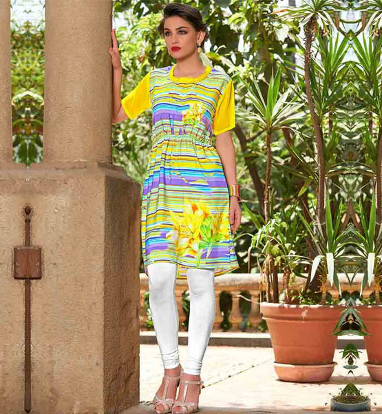 NECK DESIGNS FOR KURTIS LONG SHIRT PRINTED DESIGN DAILY WEAR PRINTED DESIGNER TOP WITH FLORAL DESIGNS