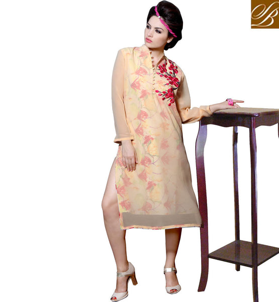 STYLISH BAZAAR ENTHRALLING PARTY WEAR INDIAN KURTI DESIGN RTBLM501