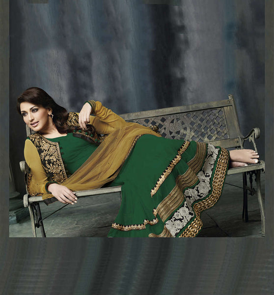 Sonali Bendre Anarkali with Jacket