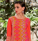 CASUAL WEAR PEACH PRINTED KURTHI WITH UP AND DOWN PATTERN BUY KURTIS ONLINE INDIAN TOPS FOR WOMEN