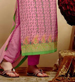 PAKISTANI STYLE DRESS LONG KURTI WITH TROUSER SALWAR IMAGE