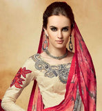 INDIAN LADY IN SALWAR KAMEEZ AND DUPATTA