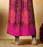WESTERN AND INDIAN FASHION FUSION LOOK SALWAR KAMEEZ