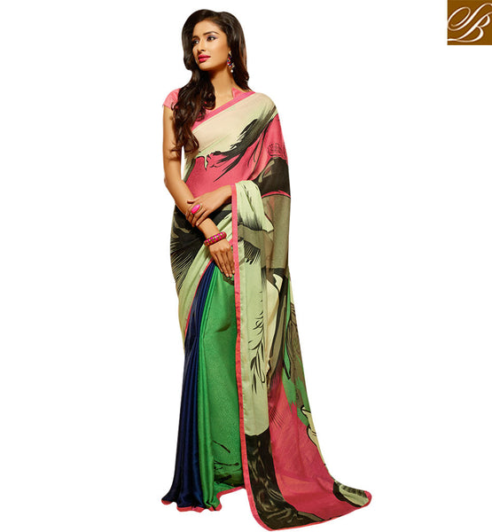 SENSATIONAL DESIGNER SARI DESIGN CRAFTED FOR PATIES HAW510