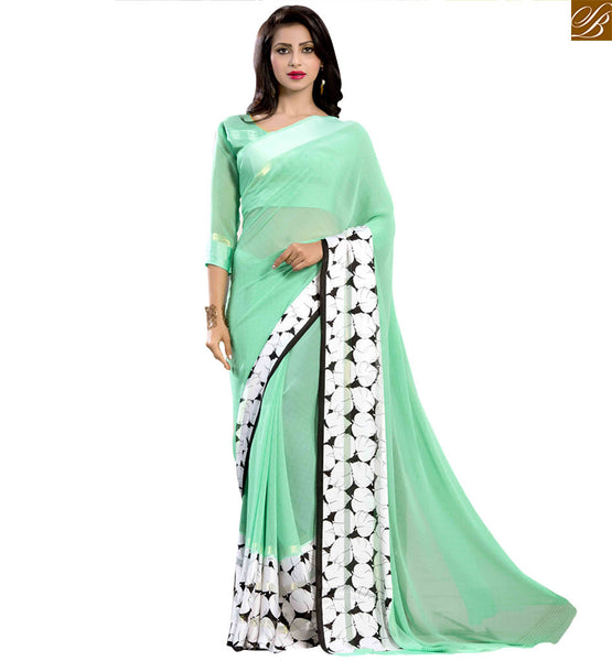 STYLISH BAZAAR ATTRACTIVE DESIGNER SARI FOR PARTIES RTSER517