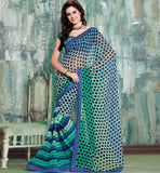 new design casual saris online shopping india