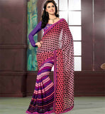 stylish bazaar casual sarees online shopping