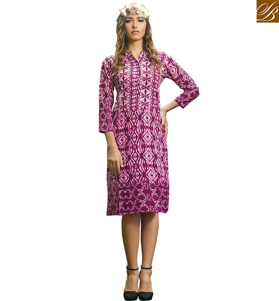BROUGHT STYLISH BAZAAR ATTRACTIVE PARTY WEAR KURTI DESIGN VDJIA525A