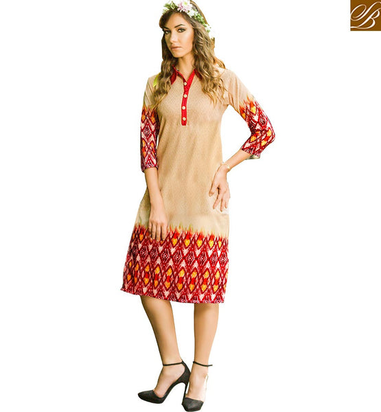 STYLISH BAZAAR STUNNING DESIGNER PARTY WEAR KURTI VDJIA527A