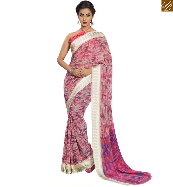 EXQUISITE DESIGNER PRINTED SARI DESIGN RTSER527 BY STYLISH BAZAAR