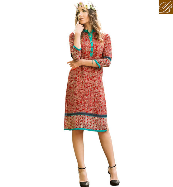 FROM THE HOUSE OF STYLISH BAZAAR ADMIRABLE DESIGNER PARTY WEAR KURTI VDJIA528A