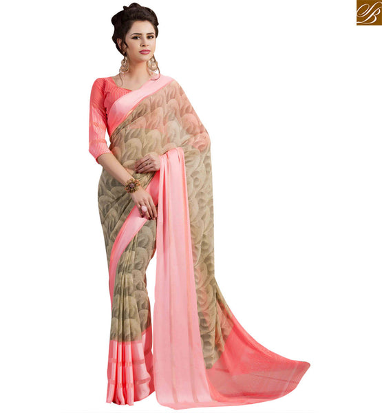 EXCELLENT DESIGNER PARTY WEAR SAREE BLOUSE RTSER528