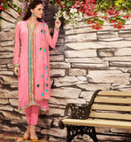 PINK PARTY WEAR SALWAR SUIT RTDAK5381A