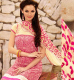 STYLISHBAZAAR ONLINE SHOPPING PINK PARTY WEAR SALWAR SUIT RTDAK5388B