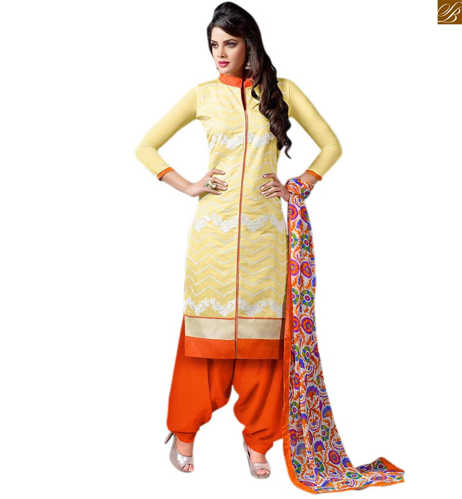 Pakistani kurta with punjabi salwar suit design for teen for Girls suit design