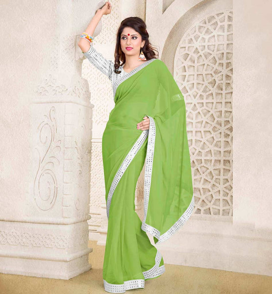 buy party wear sarees online stylishbazaar