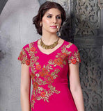 MAGNIFICENT PINK WEDDING COLLECTION SALWAR SUIT