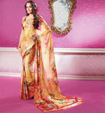 Sahiba Sarees Surat Digital Printed Saree with Blouse Online Shopping India