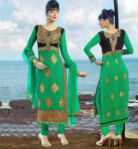 BACK NECK DESIGNS FOR SALWAR KAMEEZ PATTERNS  GOOD LOOKING EMBROIDERY PATTERN ON SALWAR SUIT WITH LACE WORK STYLISH GREEN KAMEEZ WITH CONTRAST YOKE AND BUTTABACK NECK DESIGN FOR SALWAR KAMEEZ PATTERNS GOOD LOOKING EMBROIDERY PATTERN SALWAR SUIT WITH LACE WORK