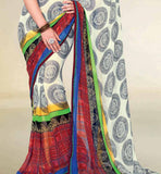APPEALING PRINTED GEORGETTE SAREE RTNK5806