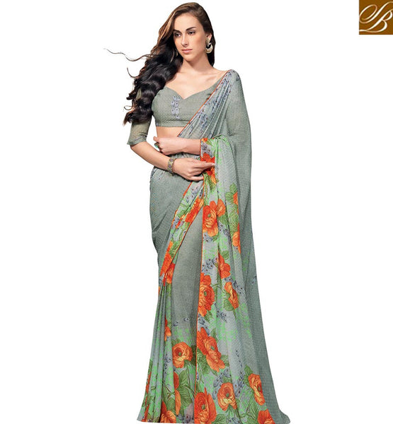 STYLISH BAZAAR PRESENTS RESPLENDENT CHIFFON DESIGNER SAREE RTKUN5829