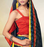 BLACK JACQUARD CASUALSAREE