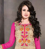 BUY 2015 STYLE WOMEN'S LONG STRAIGHT CUT KAMEEZ CHURIDAR & DUPATTA