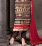 5908 ONLINE BUYING WOMEN'S PUNJABI LOOK SALWAR KAMEEZ DUPATTA SUIT SET