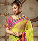 Hot Ayesha takia saree