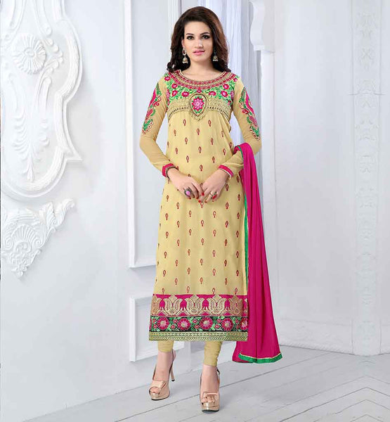 SALE ON DESIGNER INDIAN PARTY WEAR SALWAR SUIT WITH ODHNI FOR WOMEN